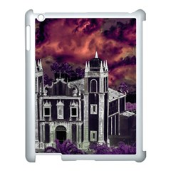 Fantasy Tropical Cityscape Aerial View Apple iPad 3/4 Case (White)