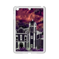 Fantasy Tropical Cityscape Aerial View iPad Mini 2 Enamel Coated Cases