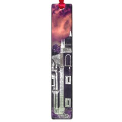 Fantasy Tropical Cityscape Aerial View Large Book Marks