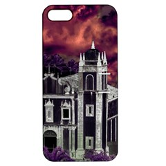 Fantasy Tropical Cityscape Aerial View Apple iPhone 5 Hardshell Case with Stand