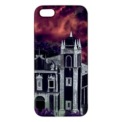 Fantasy Tropical Cityscape Aerial View Apple iPhone 5 Premium Hardshell Case