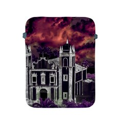 Fantasy Tropical Cityscape Aerial View Apple iPad 2/3/4 Protective Soft Cases