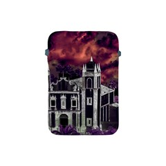 Fantasy Tropical Cityscape Aerial View Apple iPad Mini Protective Soft Cases