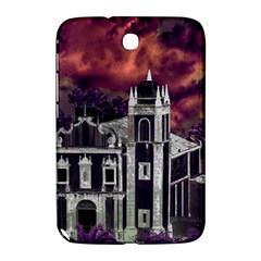 Fantasy Tropical Cityscape Aerial View Samsung Galaxy Note 8.0 N5100 Hardshell Case
