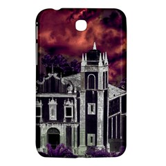 Fantasy Tropical Cityscape Aerial View Samsung Galaxy Tab 3 (7 ) P3200 Hardshell Case