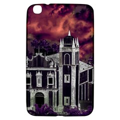 Fantasy Tropical Cityscape Aerial View Samsung Galaxy Tab 3 (8 ) T3100 Hardshell Case
