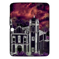 Fantasy Tropical Cityscape Aerial View Samsung Galaxy Tab 3 (10.1 ) P5200 Hardshell Case
