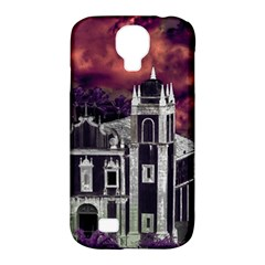 Fantasy Tropical Cityscape Aerial View Samsung Galaxy S4 Classic Hardshell Case (PC+Silicone)