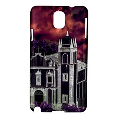 Fantasy Tropical Cityscape Aerial View Samsung Galaxy Note 3 N9005 Hardshell Case