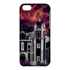 Fantasy Tropical Cityscape Aerial View Apple iPhone 5C Hardshell Case