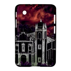 Fantasy Tropical Cityscape Aerial View Samsung Galaxy Tab 2 (7 ) P3100 Hardshell Case