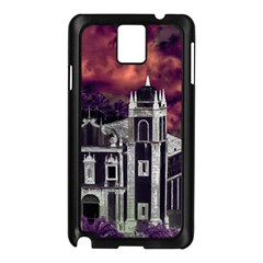 Fantasy Tropical Cityscape Aerial View Samsung Galaxy Note 3 N9005 Case (Black)
