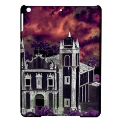 Fantasy Tropical Cityscape Aerial View iPad Air Hardshell Cases