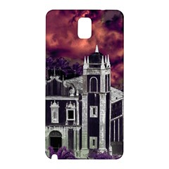 Fantasy Tropical Cityscape Aerial View Samsung Galaxy Note 3 N9005 Hardshell Back Case