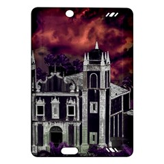 Fantasy Tropical Cityscape Aerial View Amazon Kindle Fire HD (2013) Hardshell Case