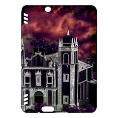 Fantasy Tropical Cityscape Aerial View Kindle Fire HDX Hardshell Case