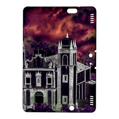 Fantasy Tropical Cityscape Aerial View Kindle Fire HDX 8.9  Hardshell Case