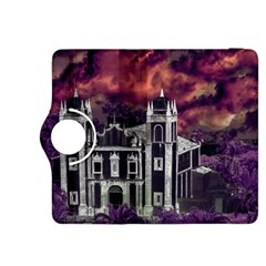 Fantasy Tropical Cityscape Aerial View Kindle Fire HDX 8.9  Flip 360 Case