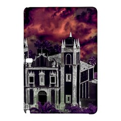 Fantasy Tropical Cityscape Aerial View Samsung Galaxy Tab Pro 10.1 Hardshell Case