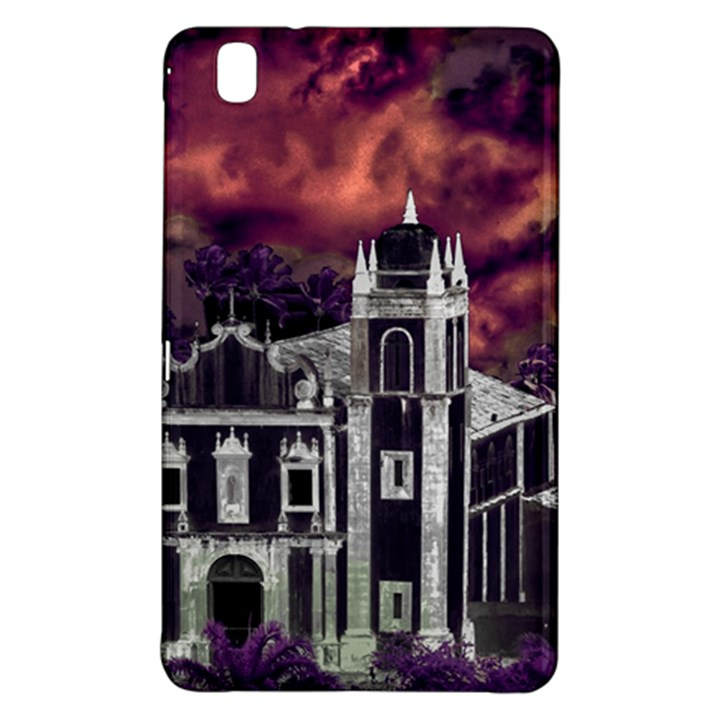 Fantasy Tropical Cityscape Aerial View Samsung Galaxy Tab Pro 8.4 Hardshell Case