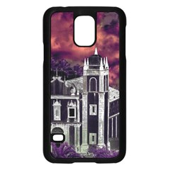 Fantasy Tropical Cityscape Aerial View Samsung Galaxy S5 Case (Black)