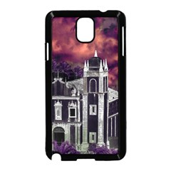 Fantasy Tropical Cityscape Aerial View Samsung Galaxy Note 3 Neo Hardshell Case (Black)