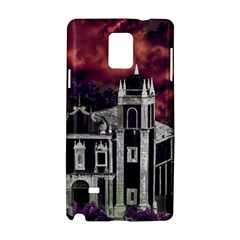Fantasy Tropical Cityscape Aerial View Samsung Galaxy Note 4 Hardshell Case
