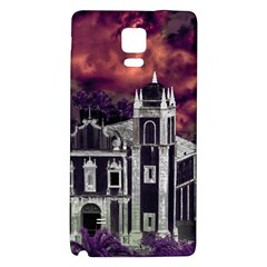 Fantasy Tropical Cityscape Aerial View Galaxy Note 4 Back Case