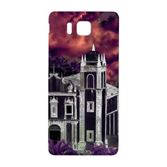 Fantasy Tropical Cityscape Aerial View Samsung Galaxy Alpha Hardshell Back Case
