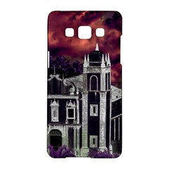 Fantasy Tropical Cityscape Aerial View Samsung Galaxy A5 Hardshell Case