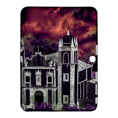 Fantasy Tropical Cityscape Aerial View Samsung Galaxy Tab 4 (10.1 ) Hardshell Case