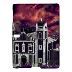 Fantasy Tropical Cityscape Aerial View Samsung Galaxy Tab S (10.5 ) Hardshell Case