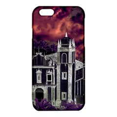 Fantasy Tropical Cityscape Aerial View iPhone 6/6S TPU Case