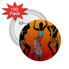 Dancing 2.25  Buttons (100 pack)