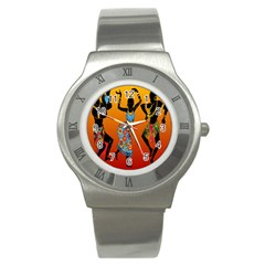Dancing Stainless Steel Watch