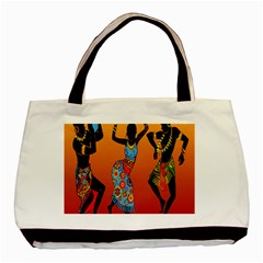 Dancing Basic Tote Bag (Two Sides)