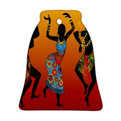 Dancing Bell Ornament (2 Sides)
