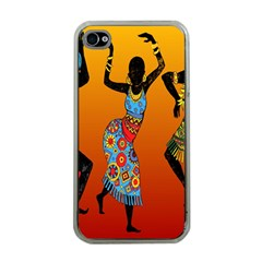 Dancing Apple iPhone 4 Case (Clear)