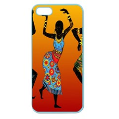 Dancing Apple Seamless iPhone 5 Case (Color)