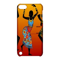 Dancing Apple iPod Touch 5 Hardshell Case with Stand