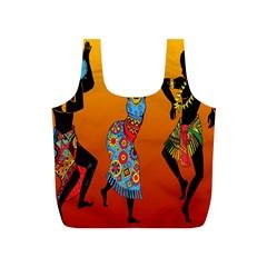 Dancing Full Print Recycle Bags (S)