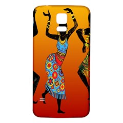 Dancing Samsung Galaxy S5 Back Case (White)