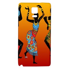 Dancing Galaxy Note 4 Back Case