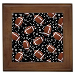 Football Player Framed Tiles
