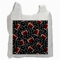 Football Player Recycle Bag (Two Side)