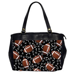Football Player Office Handbags (2 Sides)