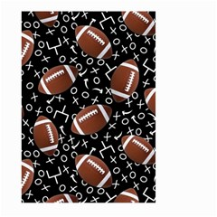 Football Player Large Garden Flag (Two Sides)