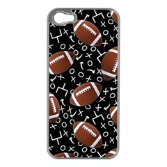 Football Player Apple iPhone 5 Case (Silver)