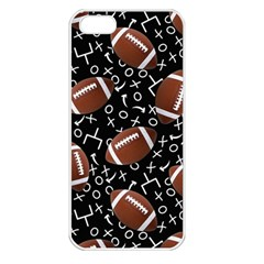Football Player Apple iPhone 5 Seamless Case (White)