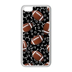 Football Player Apple iPhone 5C Seamless Case (White)